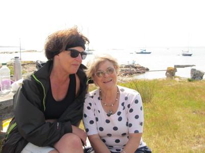 Tina och Gudrun