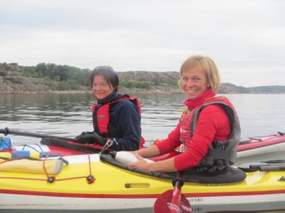 Lisen och Maria mot Vedholmen