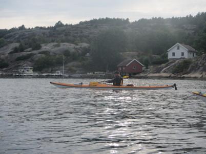 Anders på väg hem till Sälvik