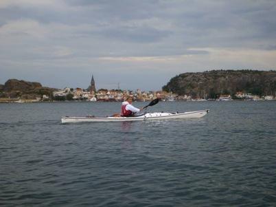...och Maria på väg hem till Sälvik