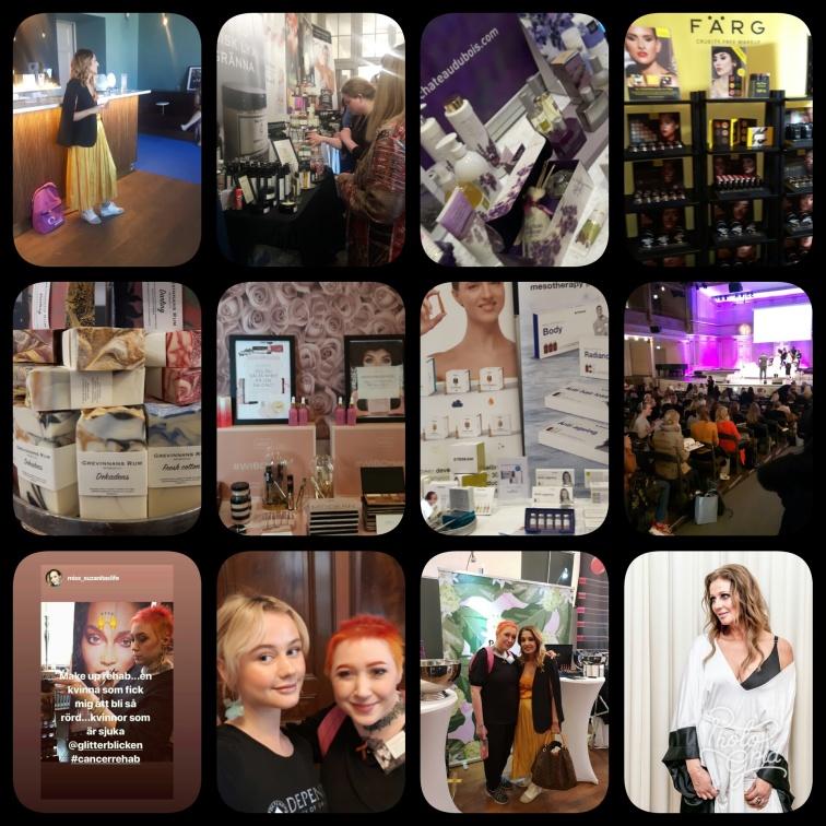 samlad blick ifrån Stockholm Beautyweek hoppas vi syns nästa år igen!