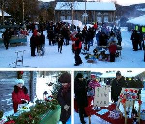 julmarknad bild från A-C Granbäck