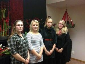 Jessika, Nina, Ninni & Johanna