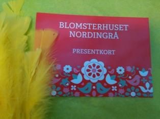 presentkort blomsterhuset nordingrå