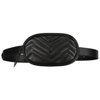 SKINNY BELT BAG - BLACK