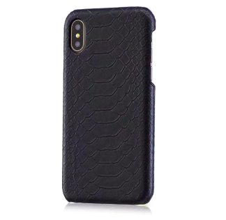 Iphone Case Croco Black