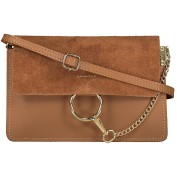 KARDASHIAN MINI BAG - CAMEL