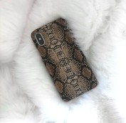 Iphone Case Snakeprint brown
