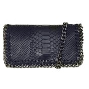 CROCO BAG - NAVY BLUE