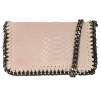 CROCO BAG - DUSTY PINK