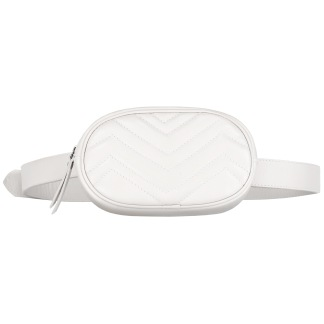 SKINNY BELT BAG - WHITE
