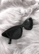 CAT EYE SHADES BLACK