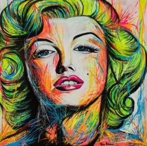Marilyn Monroe - Limited Edition Print - Unframed: Rolled In a Tube With Acid-Free Backing