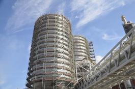 Industriställning för konstruktion.
