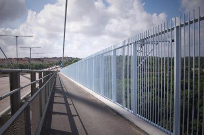 Ytterräcken på Älvsborgsbron i Göteborg, ett infrastrukturprojekt.