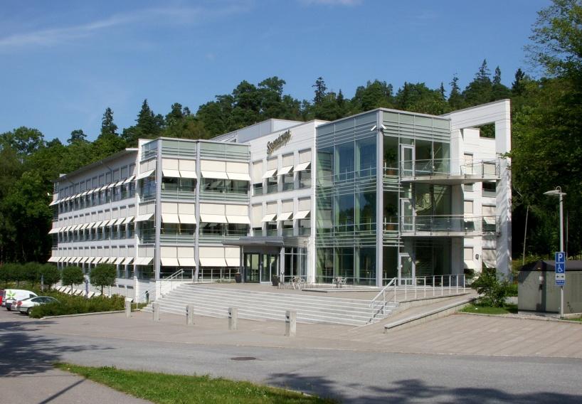 Spendrups Huvudkontor i Vårby söder om Stockholm