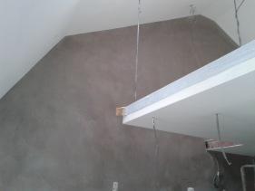 betongvägg, microcement