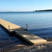 Badplats utanför Vadstena