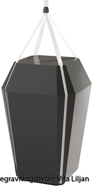 Diamant högglans svart