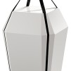 Diamant design by Jacob Jensen - Diamant högglans vit