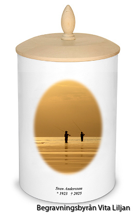 personlig urna exempel