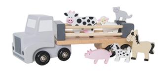 Lastbil med djur - Lastbil med djur