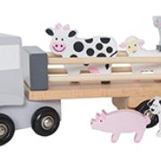 Lastbil med djur