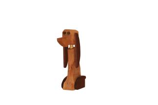 Hund i Trä Liten - Hund i trä liten
