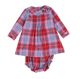 Klänning med undershorts - Klänning med undershorts 0-3 mån (56)