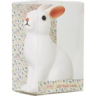 Nattlampa Kanin som ändrar färg - Nattlampa Kanin