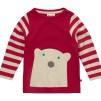 Tröja med Isbjörn Vit - Tröja med Isbjörn Röd 0-3 mån (56)