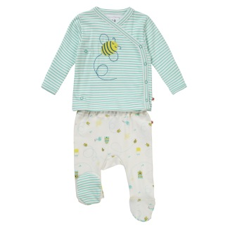 Pyjamas och Mössa Honey Bee - Pyjamas och mössa Hooney Bee Newborn