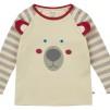 Tröja med Isbjörn Röd - Tröja med Isbjörn Vit 0-3 mån (56)