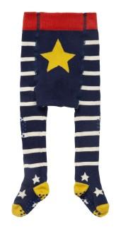 Strumpbyxor stickade Gul Stjärna - Strumpbyxa Gul Stjärna 74-80 cm