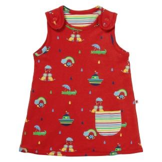 Vändbar klänning Rainbow Ark - Vändbar klänning Rainbow Ark 6-12 mån (80)