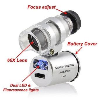 Mikroskop 60X - Mikroskåp 60 x