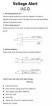 Spänningsdetektor /  Eltestpenna