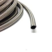 AN16 Stålomspunnen slang