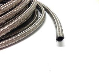 AN10 Stålomspunnen slang