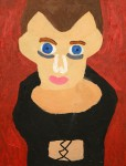 Porträtt. Akryl.