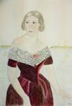 Porträtt av Jenny Lind.