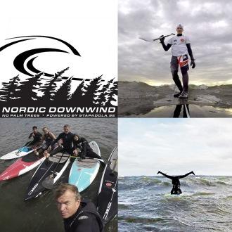 Downwind i grupp är en härlig umgängesform!