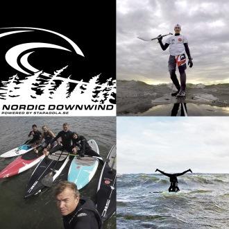 Downwind tillsammans är en svårslagen gruppaktivitet