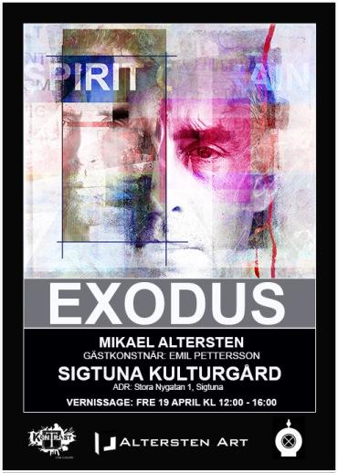 Mikael Alterstens vernissage fredag 19 aprill