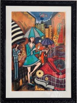 Kvälls regn (Angelika Wiik) -
