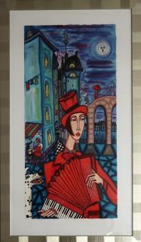 (SÅLD)Franska nätter (Angelika Wiik) -