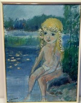 Flicka vid vattnet (Alf Forslund) - Flicka vid vattnet