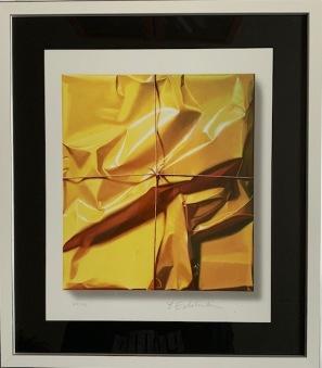 Stringed yellow power (Yrjö Edelmann) -
