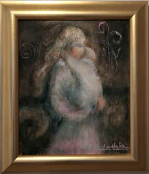 Mamma med barn i famn (Valter Du Halde) -