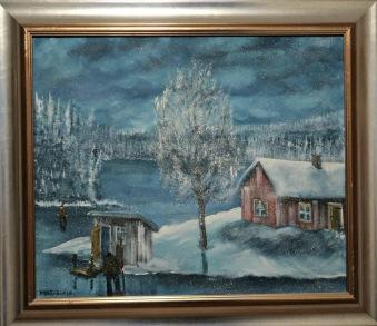 Stugor vid sjön (Inge Eriksson) -